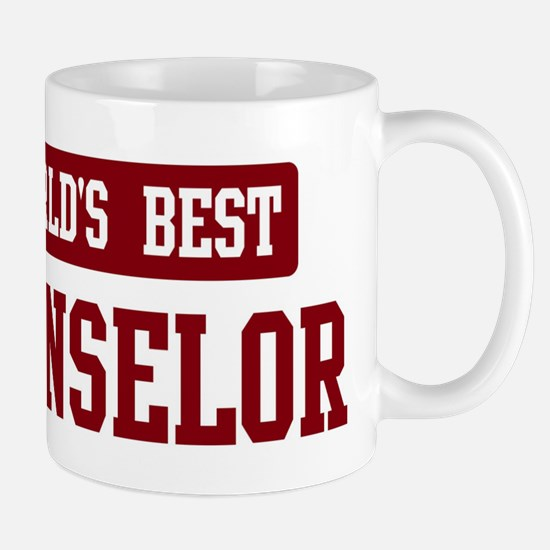 Worlds best Counselor Mug
