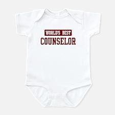 Worlds best Counselor Infant Bodysuit