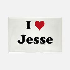 I love Jesse Rectangle Magnet