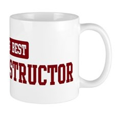 Worlds best Driving Instructo Small Mug