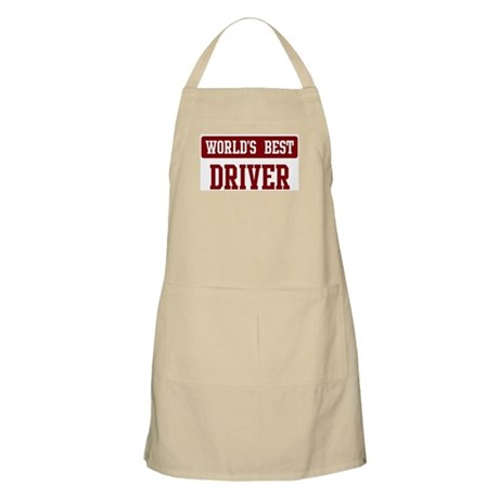 Worlds best Driver BBQ Apron