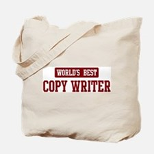 Worlds best Copy Writer Tote Bag