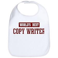 Worlds best Copy Writer Bib
