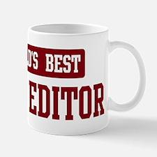 Worlds best Copy Editor Mug