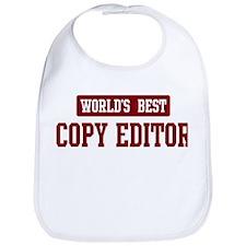 Worlds best Copy Editor Bib