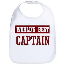 Worlds best Captain Bib