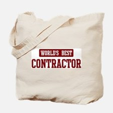 Worlds best Contractor Tote Bag