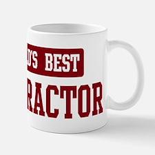 Worlds best Contractor Mug