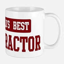 Worlds best Contractor Small Small Mug