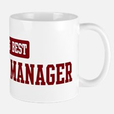 Worlds best Contract Manager Mug