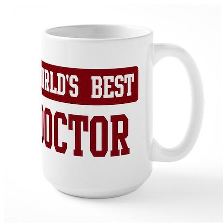 Worlds best Doctor Large Mug