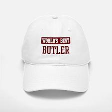 Worlds best Butler Baseball Baseball Cap