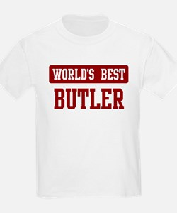 Worlds best Butler T-Shirt