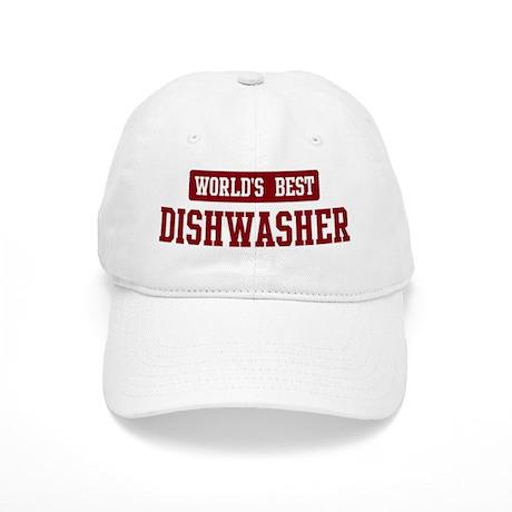 worlds best dishwasher baseball cap by myhipjob