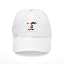 Eat ... Sleep ... MARMOTS Baseball Cap