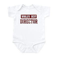 Worlds best Director Infant Bodysuit