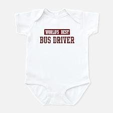 Worlds best Bus Driver Infant Bodysuit