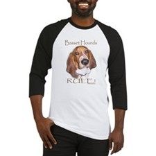 Basset Hounds Rule 2 Baseball Jersey