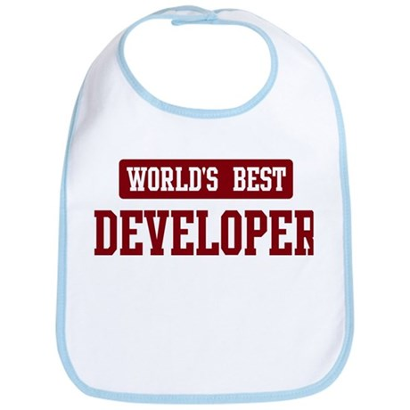 Worlds best Developer Bib