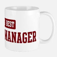 Worlds best Building Manager Small Small Mug