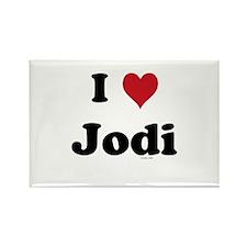 I love Jodi Rectangle Magnet (10 pack)