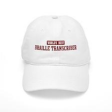 Worlds best Braille Transcrib Baseball Cap