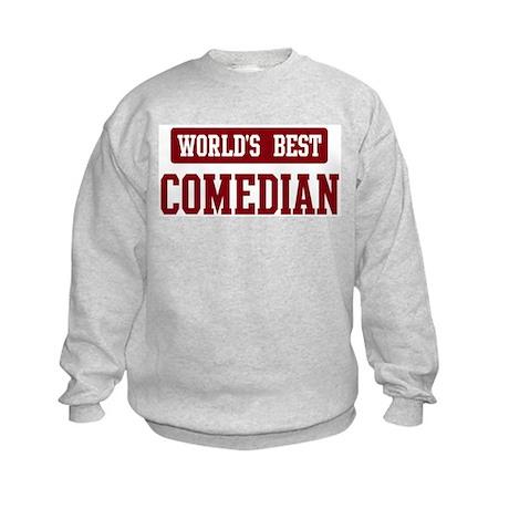 Worlds best Comedian Kids Sweatshirt