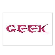 Geek Postcards (Package of 8)