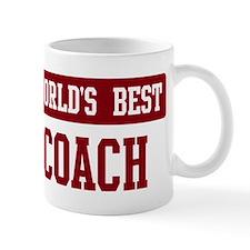 Worlds best Coach Small Mug
