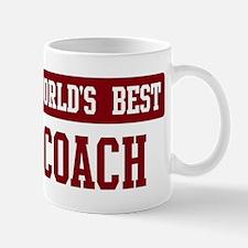 Worlds best Coach Small Small Mug