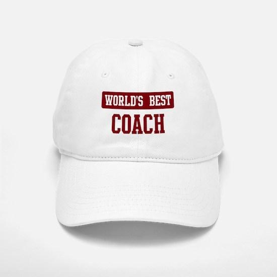 Worlds best Coach Baseball Baseball Cap