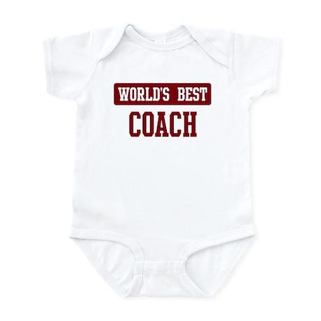 Worlds best Coach Infant Bodysuit