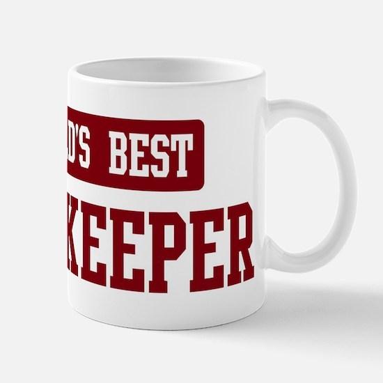 Worlds best Bookkeeper Mug