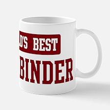 Worlds best Bookbinder Mug
