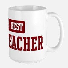 Worlds best Civics Teacher Mug