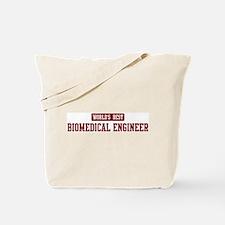 Worlds best Biomedical Engine Tote Bag
