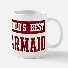 Worlds best Barmaid Mug