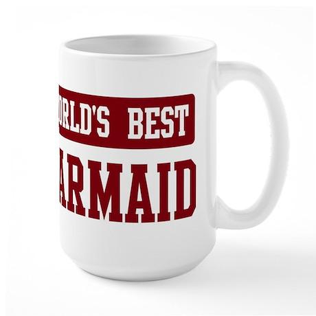 Worlds best Barmaid Large Mug