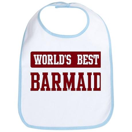 Worlds best Barmaid Bib