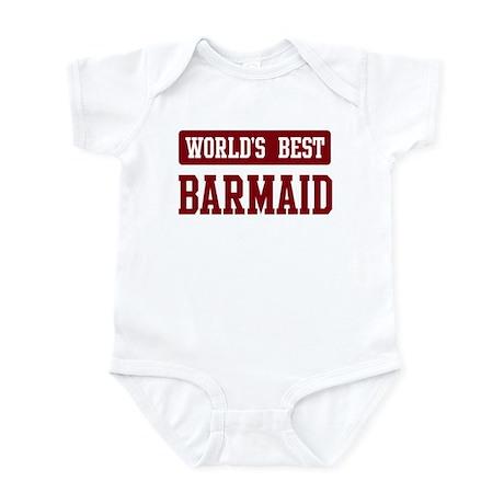 Worlds best Barmaid Infant Bodysuit