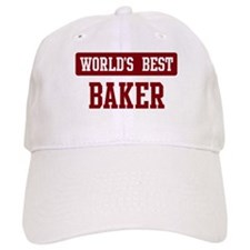 Worlds best Baker Baseball Cap