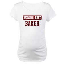 Worlds best Baker Shirt