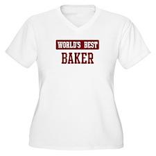 Worlds best Baker T-Shirt