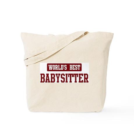 Worlds best Babysitter Tote Bag