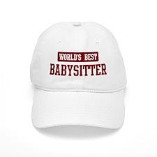 Worlds best Babysitter Baseball Cap