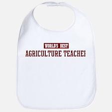 Worlds best Agriculture Teach Bib