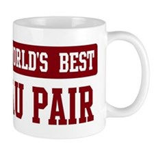 Worlds best Au Pair Small Mugs
