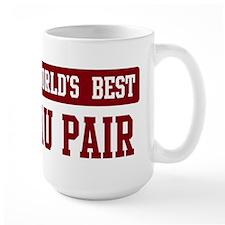 Worlds best Au Pair Mug