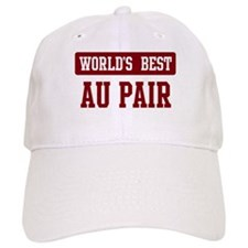 Worlds best Au Pair Baseball Cap
