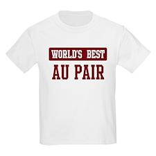 Worlds best Au Pair T-Shirt